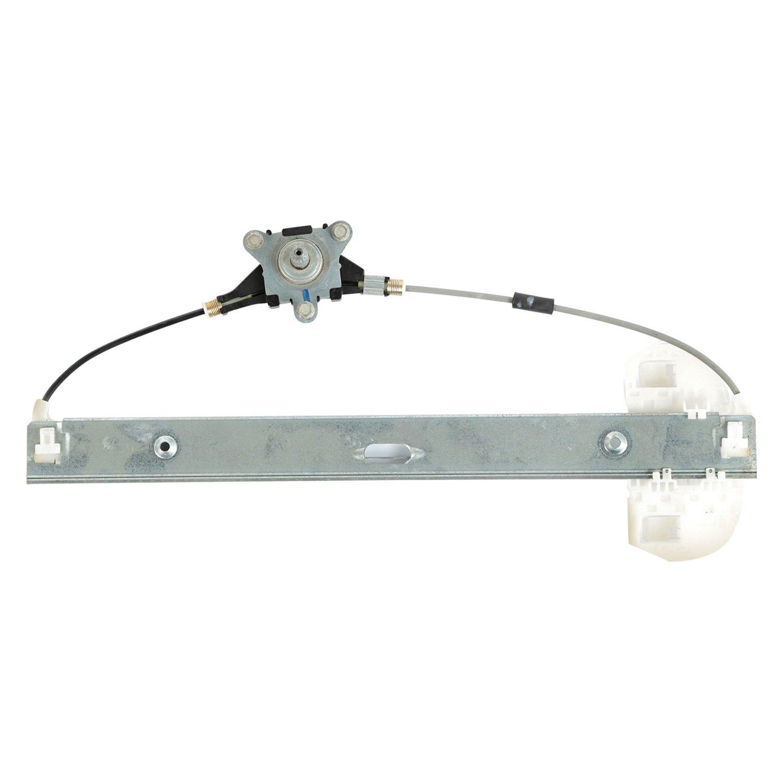 Omix ada rear driver side manual window regulator for Window mechanism