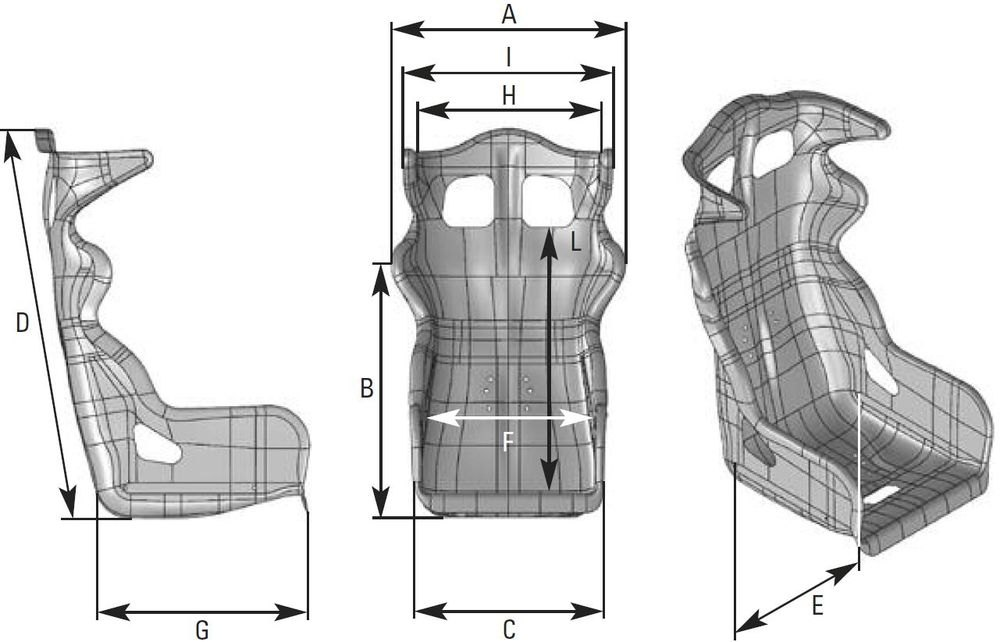Omp Style Series Tuning Seat