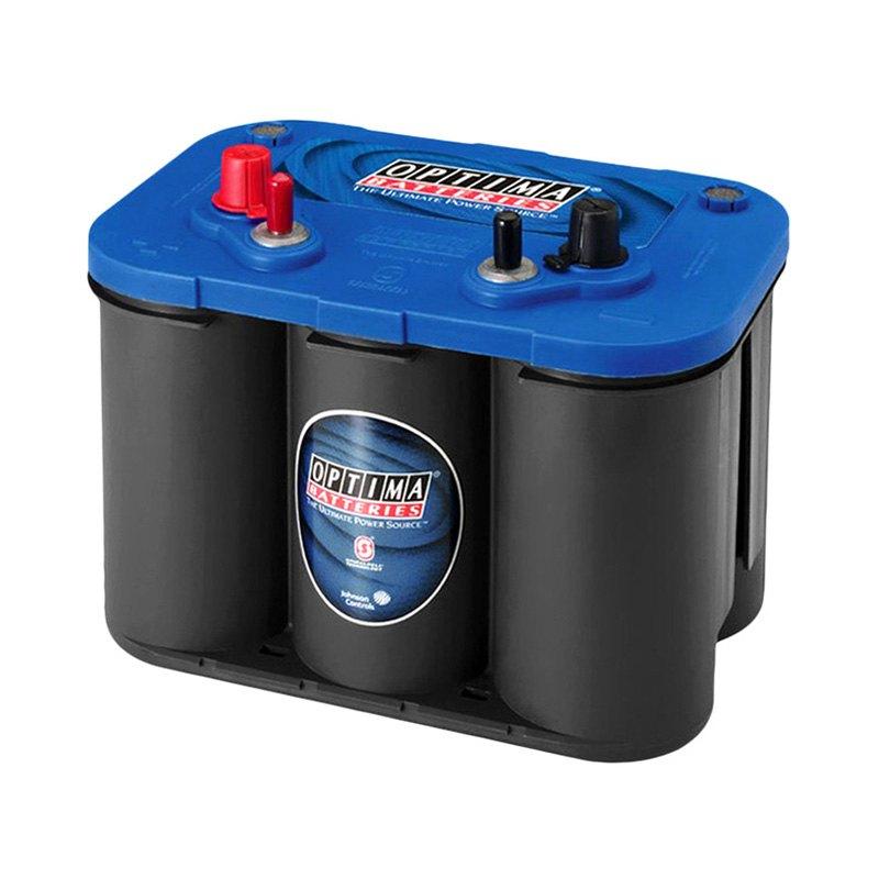 Optima 8006 006 34m 50 Ah Agm Marine Battery 800 Amps 12