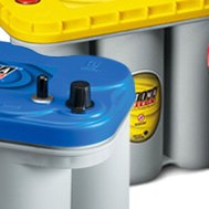 Optima® - YellowTop™ Car Battery Installed