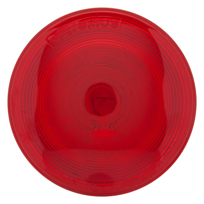 Optronics St45rbp St45 Series 4 U0026quot  Round Sealed Red Stop