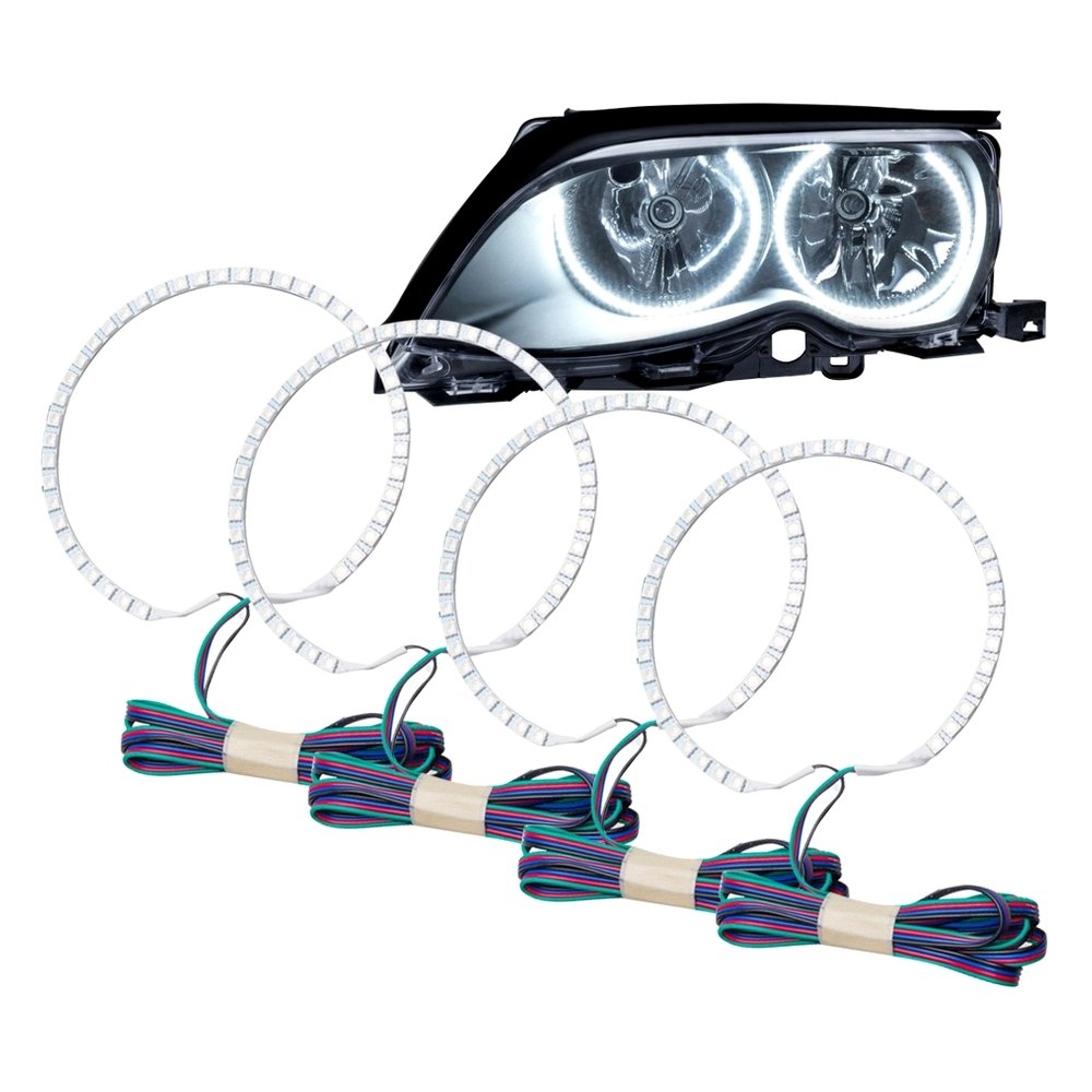 Oracle Lighting - Bmw 3-Series 2004 Color Dual Halo Kit -9461