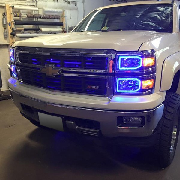 Oracle Lighting 174 Chevy Silverado Without Factory