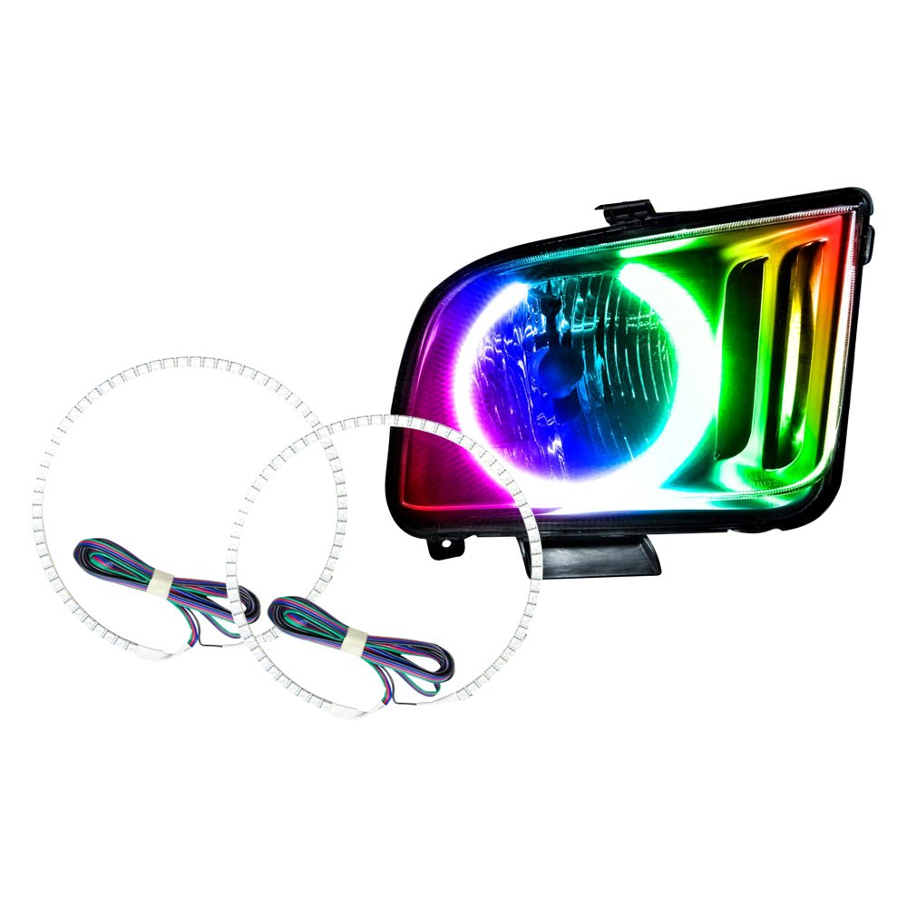 Oracle Lighting - Ford Mustang 2005-2009 Color Halo Kit -4283