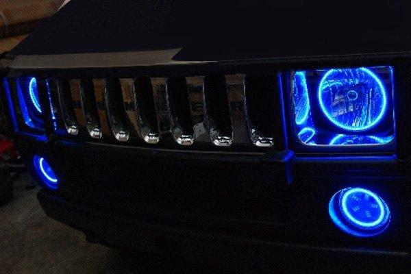 Hummer Models List >> Oracle Lighting® - Hummer H2 2003-2009 Color Halo Kit for Headlights