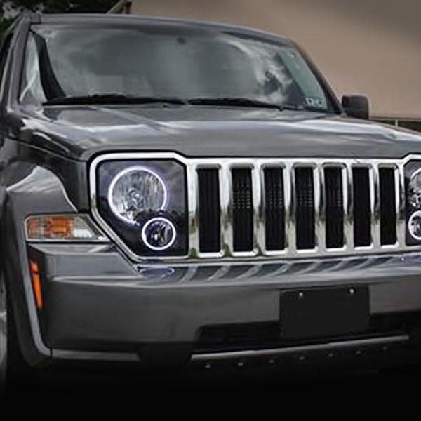 Jeep Liberty 2008-2013 Color Dual Halo