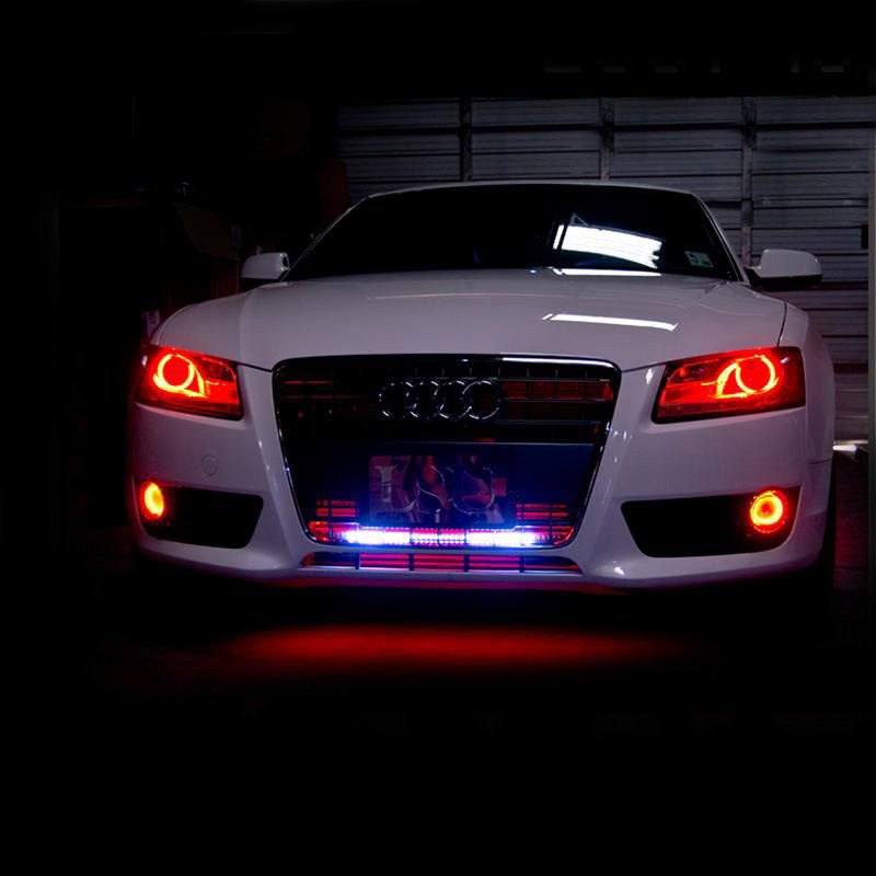 Oracle Lighting 174 Audi A5 2008 2013 Color Halo Kit For