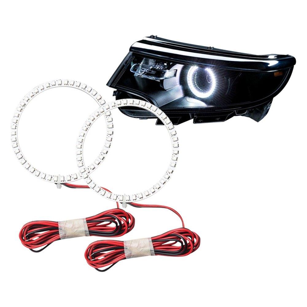 Easy Track Lighting Kit: Ford Edge 2011-2014 Color Halo Kit For