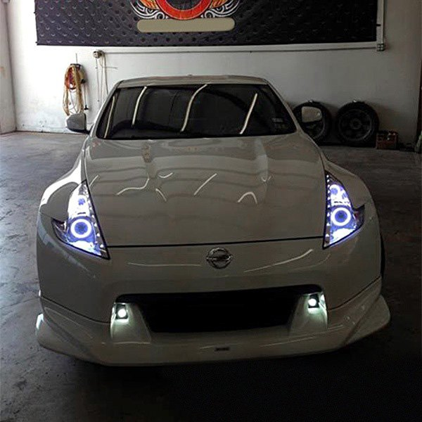 Oracle Lighting 174 Nissan 370z 2009 2014 Color Dual Halo