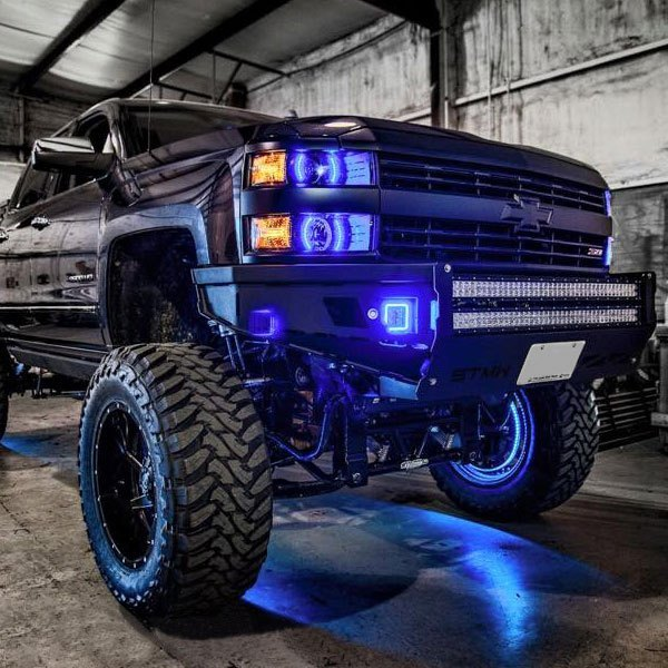 Oracle Lighting 174 Chevy Silverado With Factory Projector