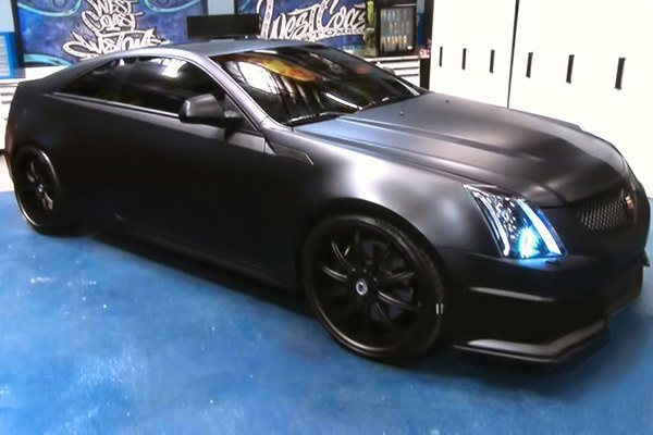 Cadillac Cts V Coupe >> Oracle Lighting® - Cadillac CTS-V Coupe 2011 Color Halo Kit for Headlights