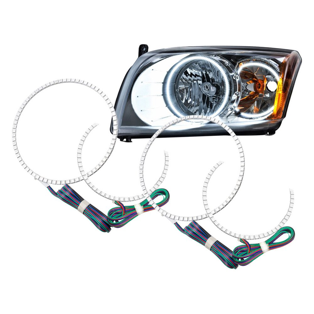 Oracle Lighting - Dodge Caliber 2008 Color Dual Halo Kit -3274