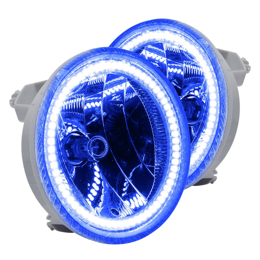 oracle lighting 7004 052 factory style fog lights with blue