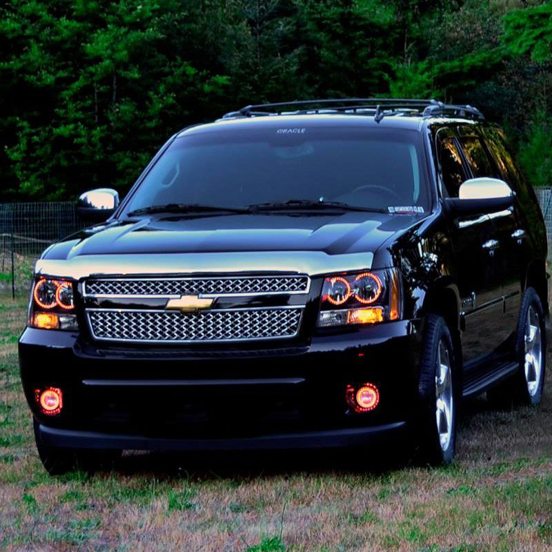 2007 Tahoe Reviews >> Oracle Lighting® - Chevy Suburban without Off-Road Package 2008 Factory Style Fog Lights with ...
