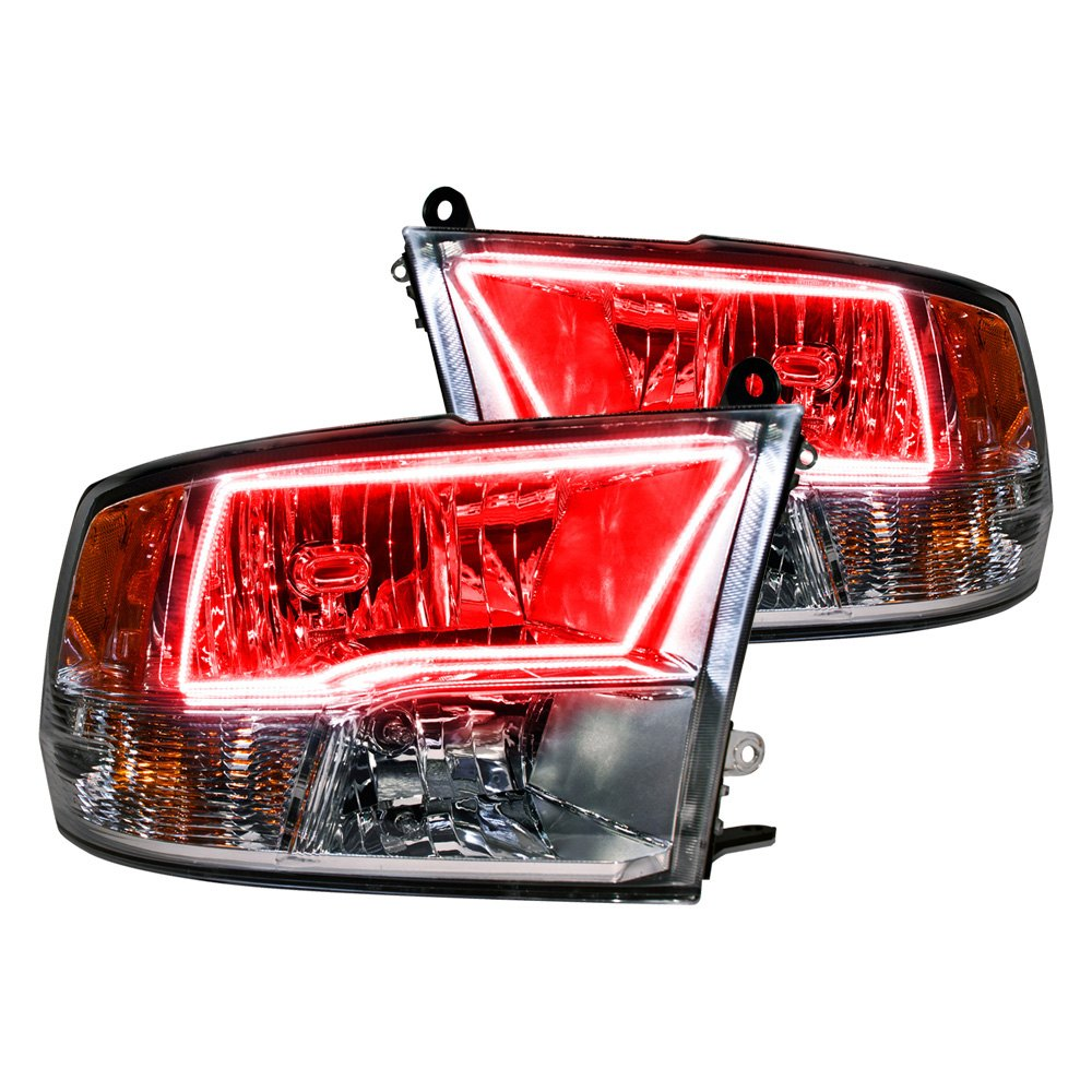 Oracle Lighting® - Dodge Ram with Factory Quad Lamp ...