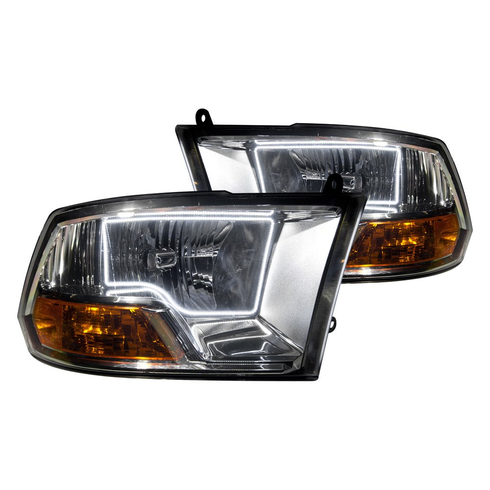Ram Oracle Headlights >> Oracle Lighting® - Dodge Ram without Sport Package 2010 Chrome Factory Style Headlights with ...