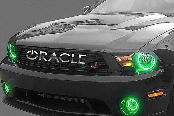 Oracle Lighting Factory Style Fog Lights With Color Halo