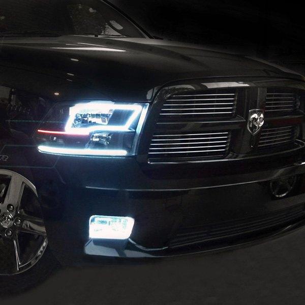 Oracle Lighting 174 Dodge Ram Slt Quad Cab 2011 2012 Black