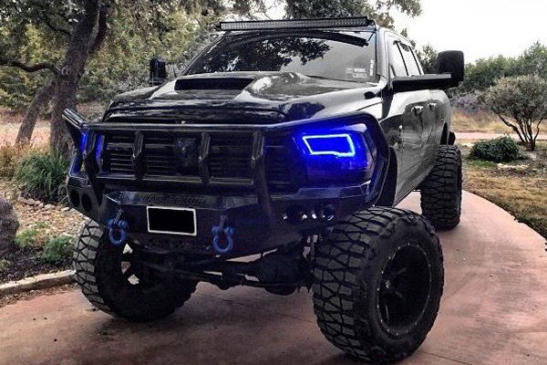 Oracle Lighting® - Dodge Ram SLT Quad Cab 2011-2012 Black ...