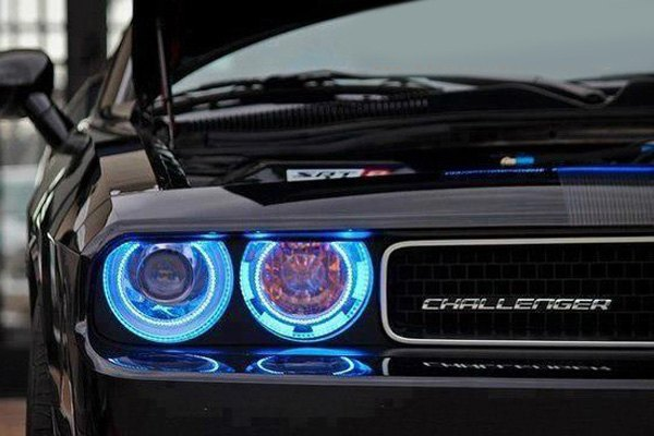 Oracle Lighting Dodge Challenger With Factory Hid Xenon Headlights 2009 2010 Chrome Factory