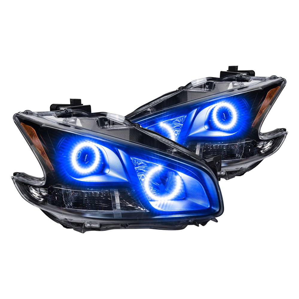 projection headlights Dodge projector headlights are originated in 24hr racing series race car, engineers understood that projector concentrates light beam and focus those light and use it.