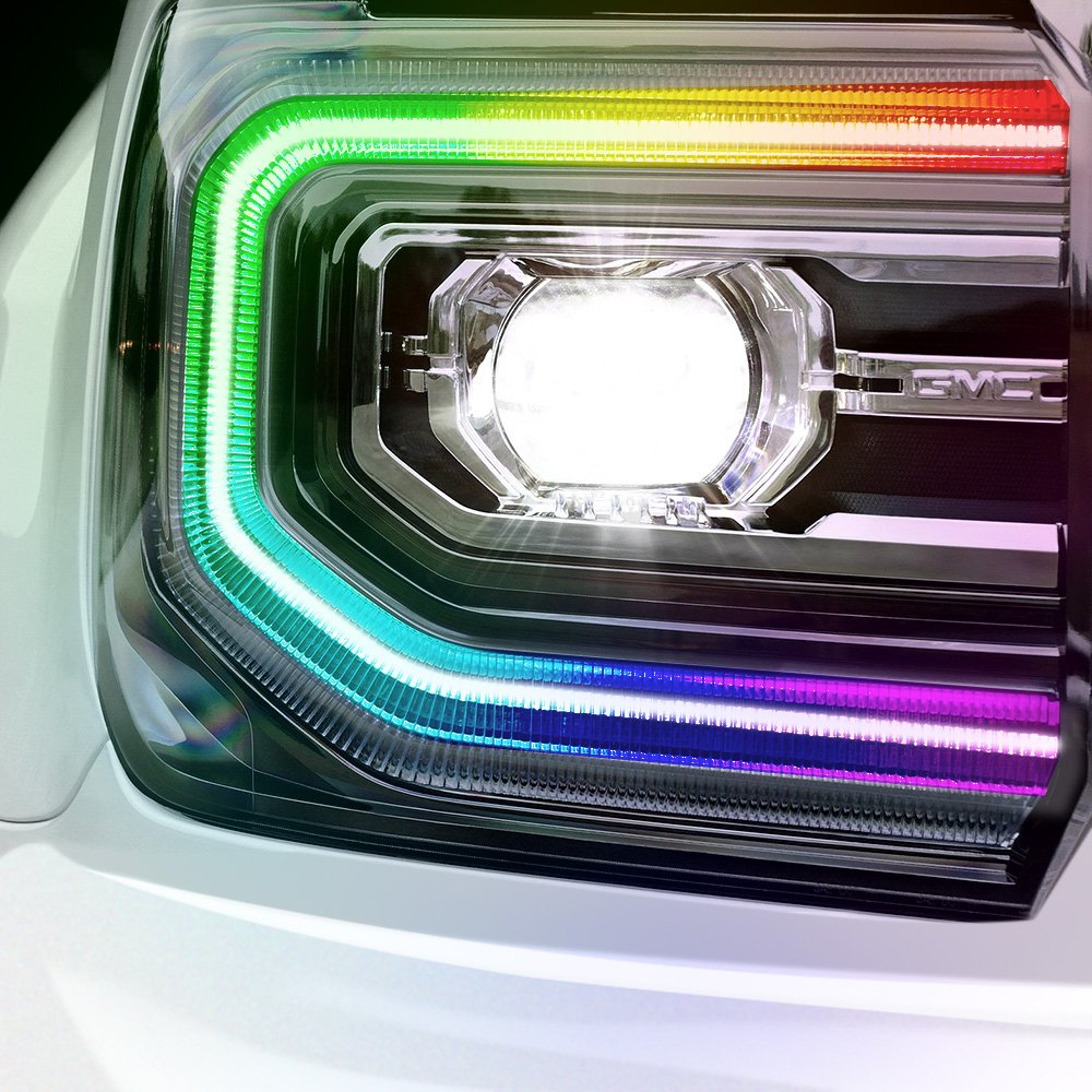 Oracle Lighting Gmc Sierra 3500 2016 Colorshift Led Daytime Circuit Board Kits 10 Running Light Upgrade Kit