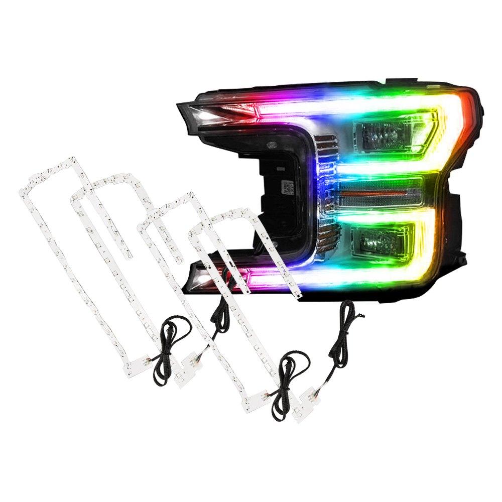 oracle lighting 1330 332 dynamic colorshift bluetooth led daytime