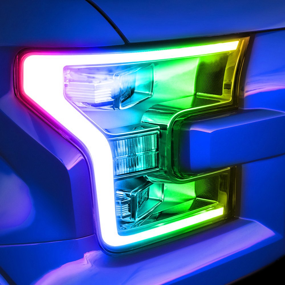 Oracle Lighting 174 Ford F 150 With Factory Quad Beam Led