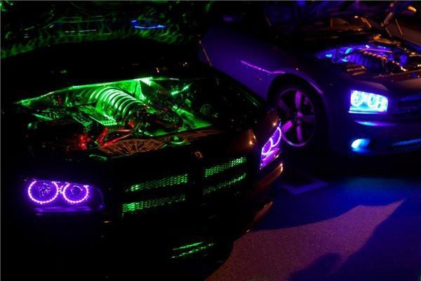 Ordinary Led Lights Inside Car Greg Installed Red Strips In His Be Safe
