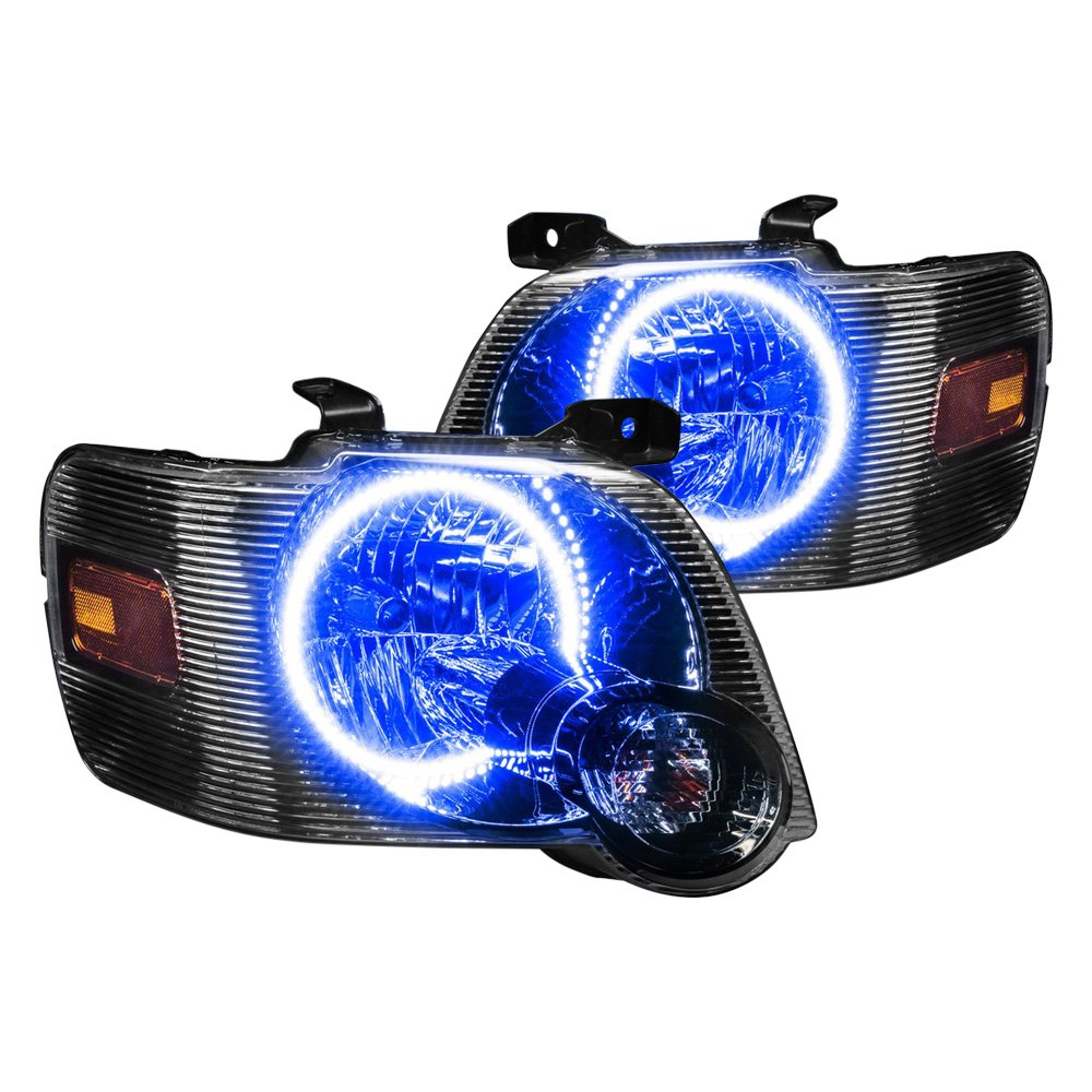 Oracle Lighting Factory Style Headlights With Blue Plasma Led Halos Preinstalled