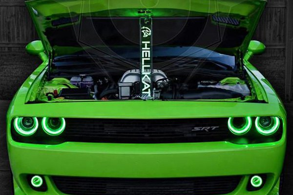 Oracle Lighting 174 Dodge Challenger 2015 2018 Color Halo
