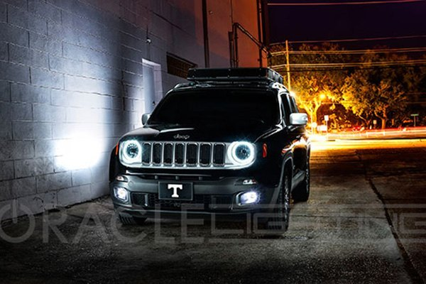 Oracle Lighting 174 Jeep Renegade 2015 Color Halo Kit For