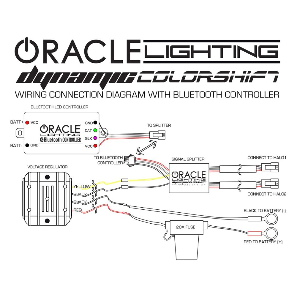 Oracle Halo Headlight Wiring Diagram - Wiring Diagrams Sort on