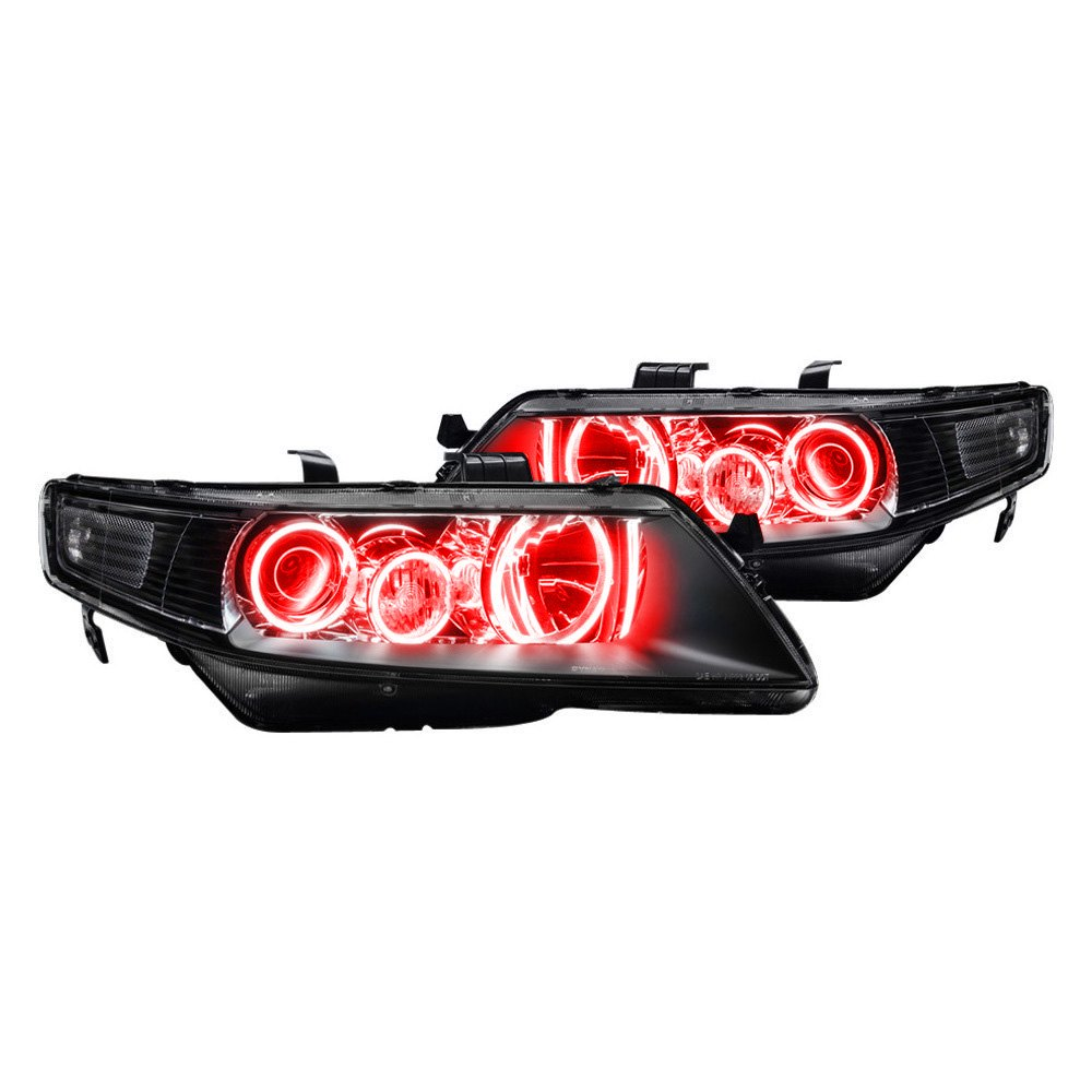 For Acura TSX 04-07 Oracle Lighting SMD Red Triple Halo