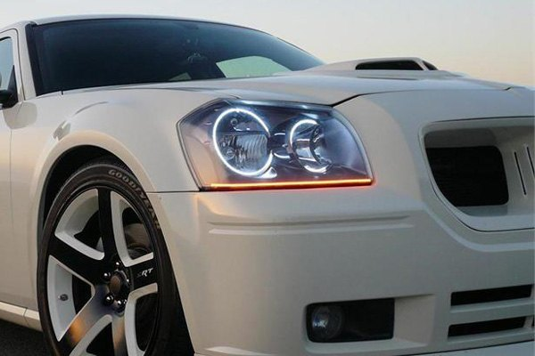 For Dodge Magnum 08 Oracle Lighting SMD ColorSHIFT Dual Halo kit for Headlights