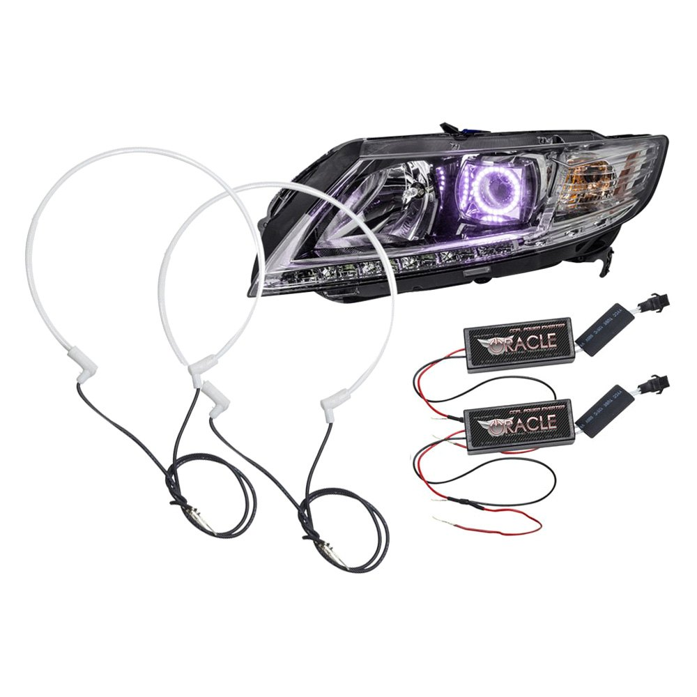 oracle lighting u00ae 3942-037  purple halo kit for