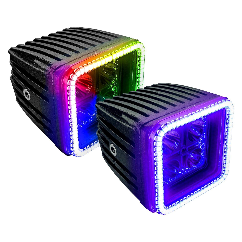 rgb comparison purple lights light led illuminator