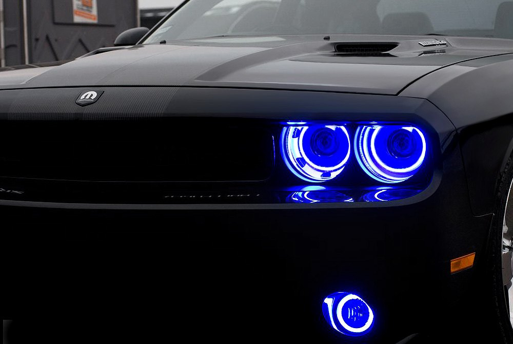 Oracle Lighting Led Halo Fog Lights Carid