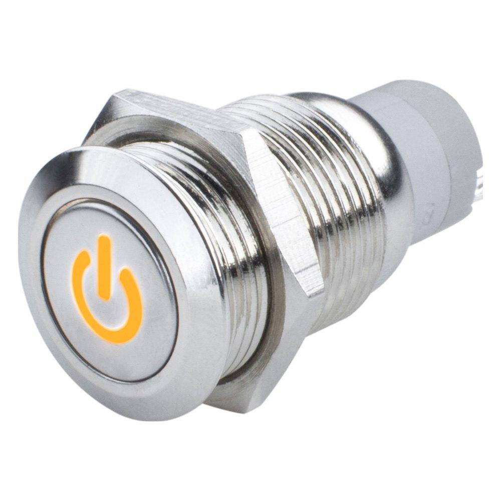Oracle Lighting® - Flush Mount Power Symbol LED Switch