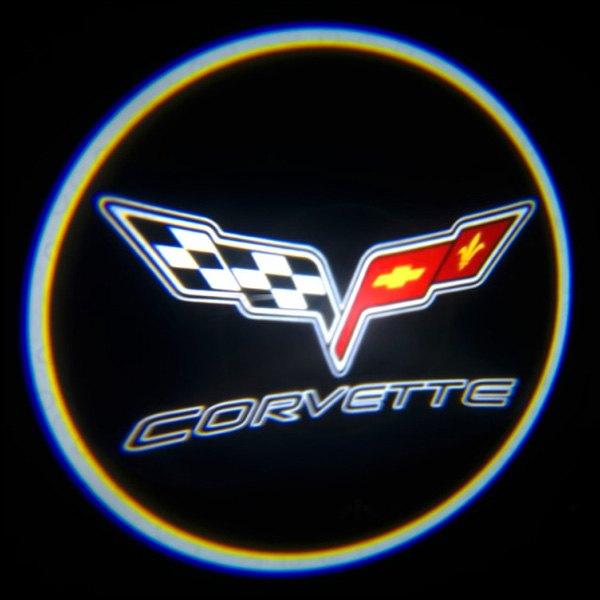 Oracle Lighting 174 3339 504 Corvette Gobo Led Door Projector