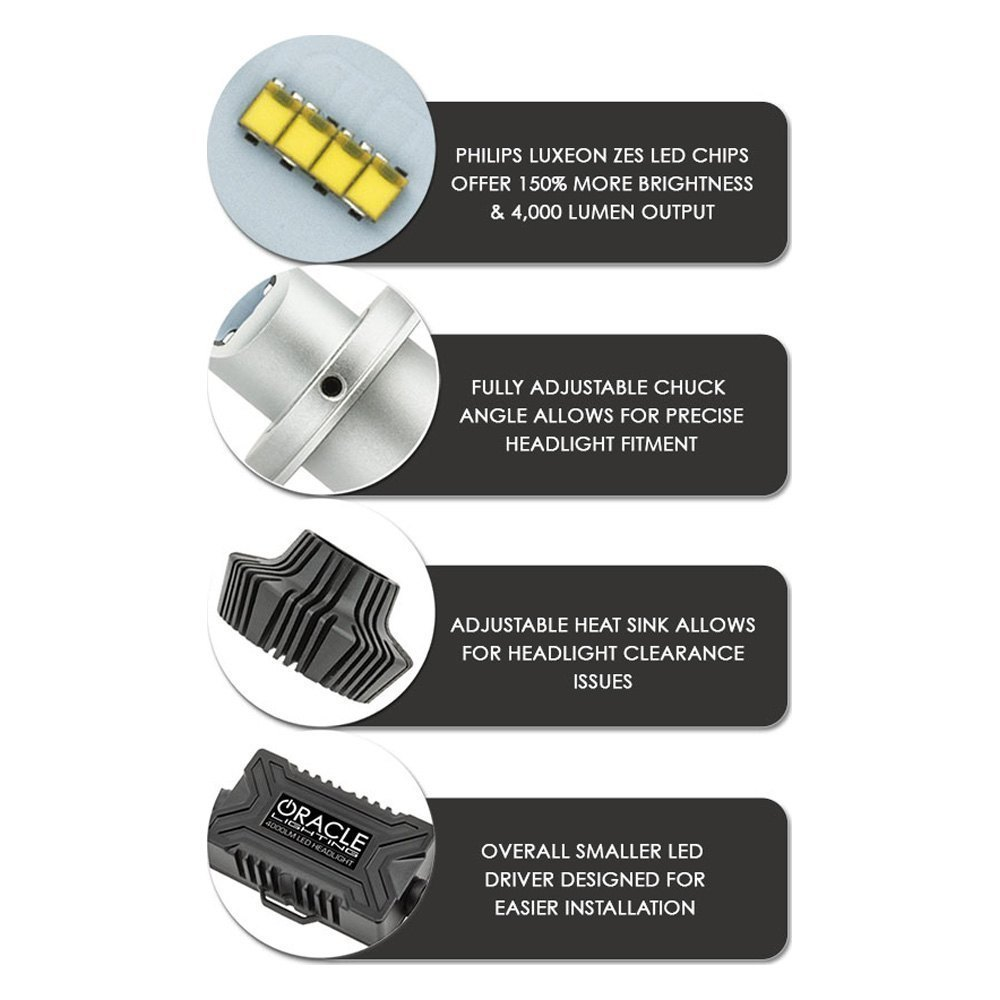 Oracle Lighting 5242 001 High Output Led Conversion Kit 9012 Zxsc400 In The Luxeon Powered And Datasheet Features Of