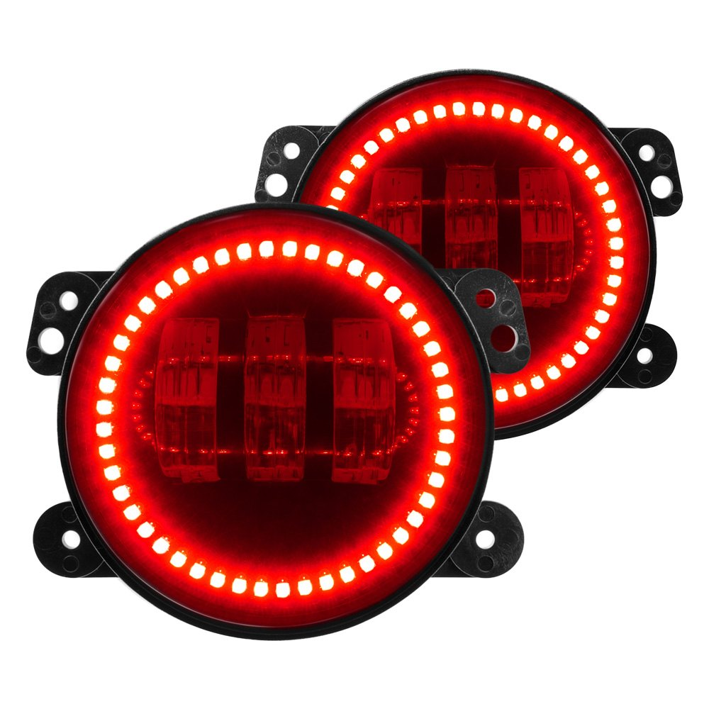 jeep jk lights electric mx tl lighting® jeep wrangler 2013 offroad high powered led fog lights