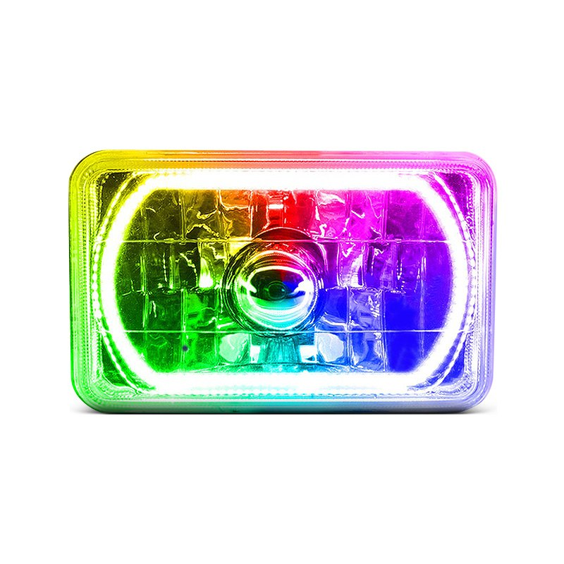 Colored headlights 28 images 187 7 inch elite multi for Bathroom designs 7x6
