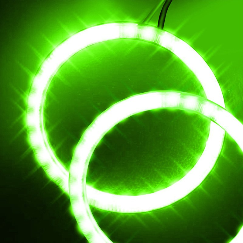 Oracle Lighting 2626 004 SMD Green Dual Halo Kit For Headlights