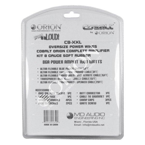 Orion® - Cobalt XXL Amplifier Wiring Kit