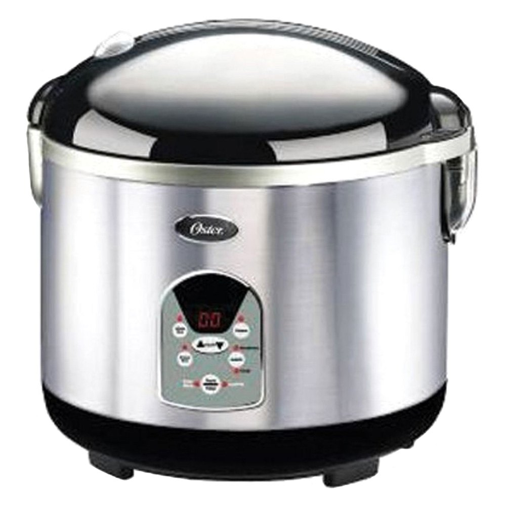 Oster 003071 000 000 Smart Digital Stainless Steel 20 Cup Rice Cooker Brush