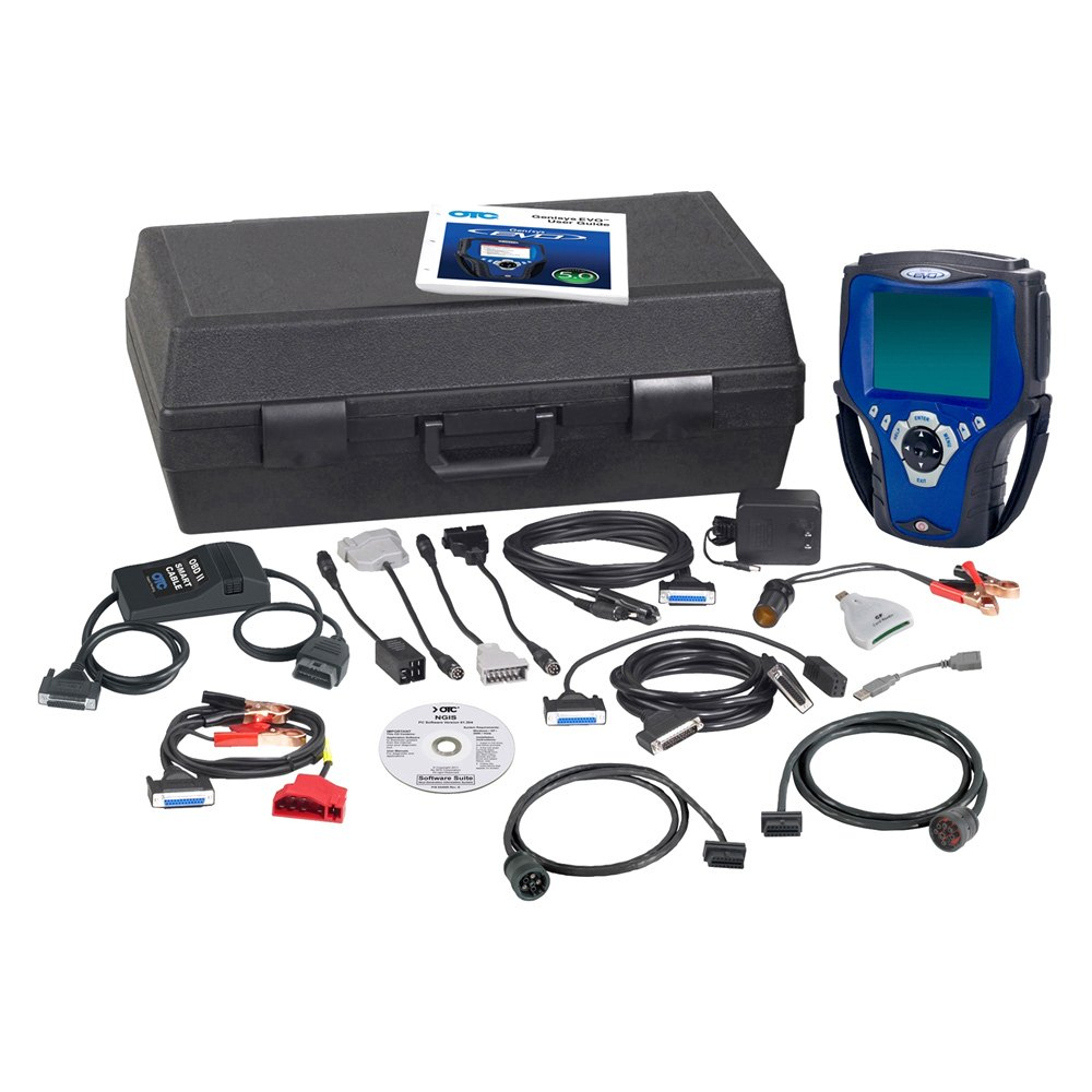 Otc 174 3874hd Genisys Evo Scan Tool Deluxe With Usa 2012