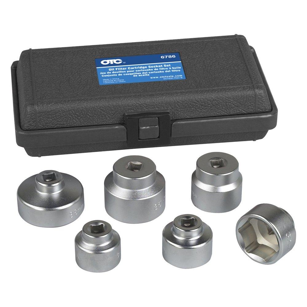 OTC® 6786 - Oil Filter Socket Set