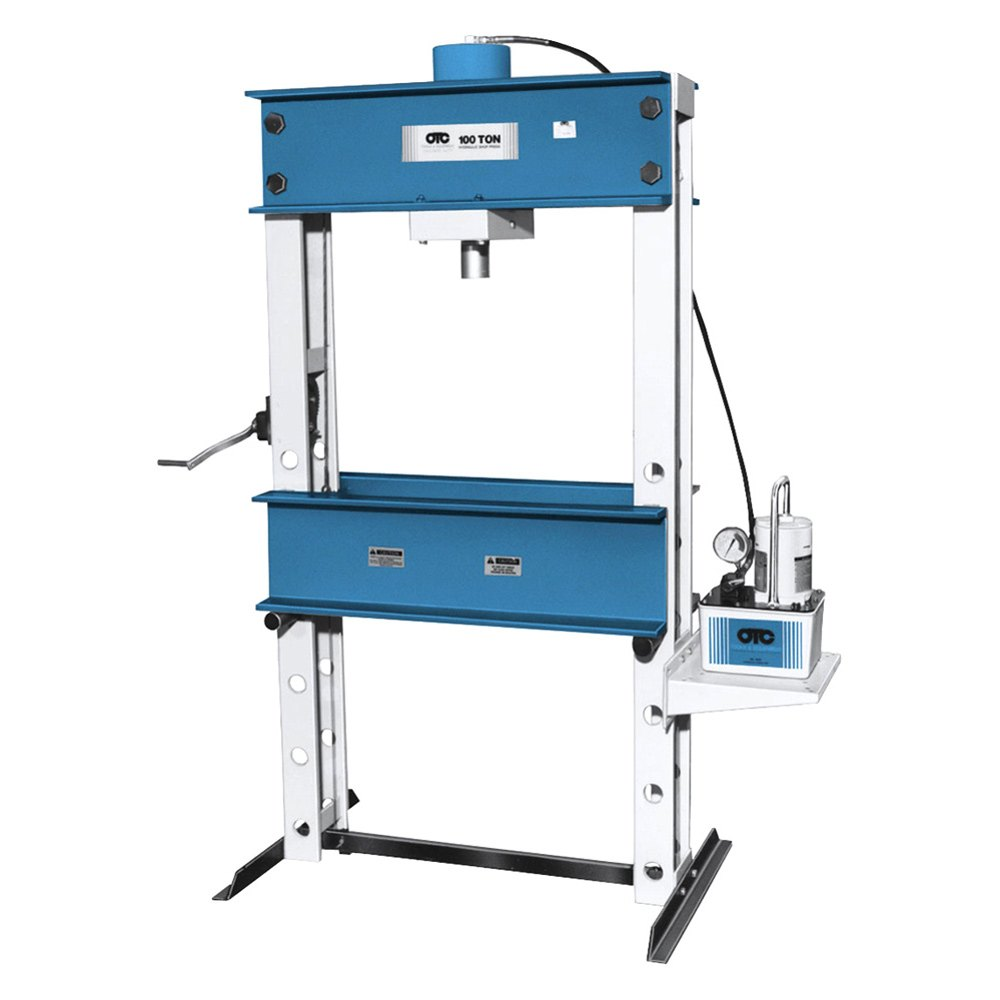 Otc 174 1854 100 Ton Capacity Economy Shop Press With
