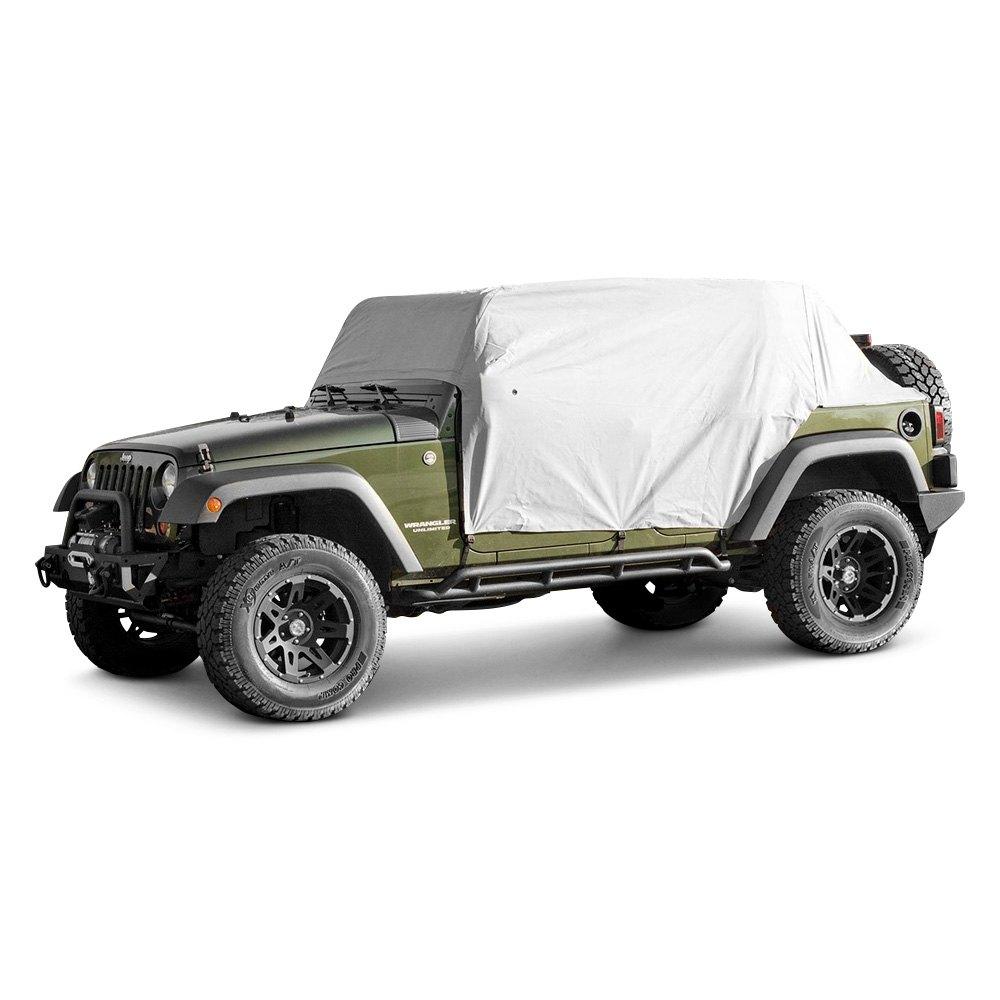 outland automotive jeep wrangler 2015 gray weather lite cab cover. Black Bedroom Furniture Sets. Home Design Ideas
